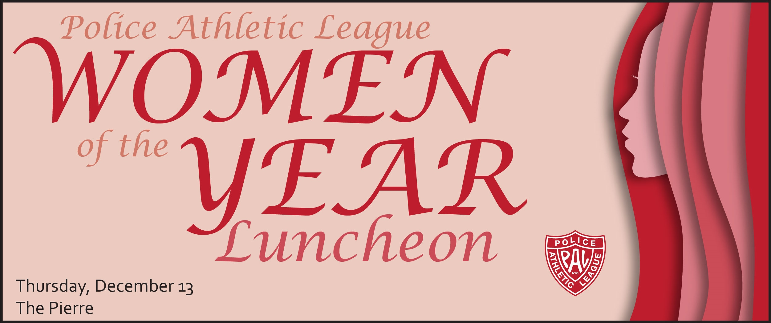 Police Athletic League 29th Women of the Year Luncheon